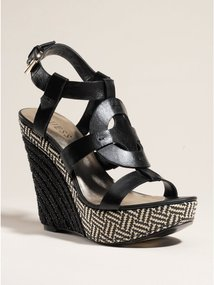 GUESS Dailona Wedge Sandals