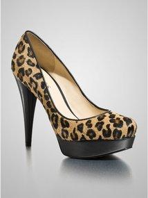 GUESS Adriene Leopard-Print Pumps