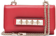 Valentino Va Va Voom Mini Flap Bag in Red