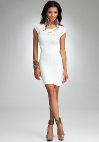 Femme Lace Bodycon Dress