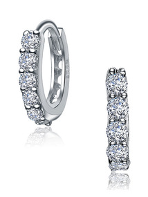 Mini CZ Hoop Earrings