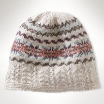 Ralph Lauren Lambswool Fair Isle Hat