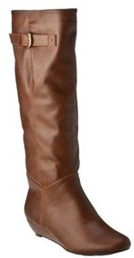 Women's Mossimo® Kali Wedge Boot - Cognac