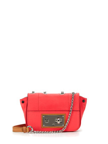 Mina Bright Nappa Mini Sophia Crossbody