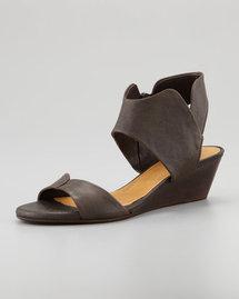 Coclico Kinu Wood Sandal, Charcoal