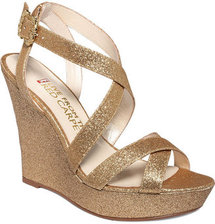 E! Red Carpet E! Live From the Red Carpet Shoes, E0011 Evening Platform Wedges
