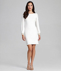 Maggy London Cowlback Shift Dress