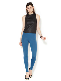 Lightweight 9 Rise Basic Leggings