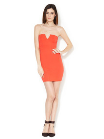 Jersey Strapless Dress