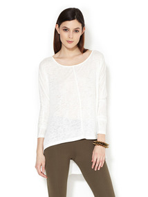 Burnout Jersey Dolman Top