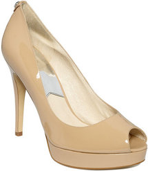 MICHAEL Michael Kors Shoes, York Peep-Toe Platform Pumps