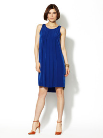 Pleated Tank Dress