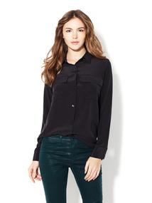 Two Pocket Silk Shirt