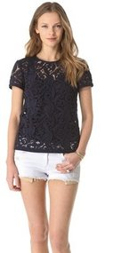 Juicy couture Guipure Lace Top