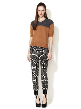 Silk Floral Dream Printed Pant