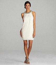 Night Way Sheath Necklace Dress