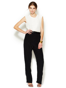 Silk Color Block Lucas Jumpsuit