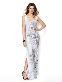 Maelle Jersey Racerback Maxi Dress