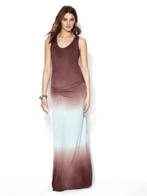 Hampton Gathered Maxi Dress