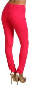 James Jeans - Twiggy 5-Pocket Legging in Fuchsia (Fuchsia) - Apparel