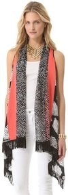 Diane von furstenberg Serape Scarf / Vest
