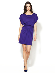 Jersey Ruched Side Dress