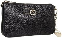 DKNY - Items - French Grain Small Clutch (Black) - Bags and Luggage