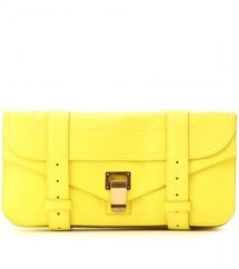 Proenza Schouler PS1 LEATHER CLUTCH