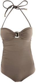 [a href=/womens/chloe]Chloé[/a]              Ruched side swimsuit