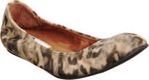 Lanvin Leopard Print Ballet Flat