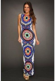 Mara Hoffman - Backless Column Dress (Pow Wow White) - Apparel