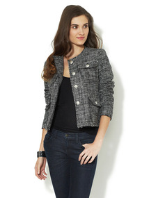 Four Pocket Tweed Jacket
