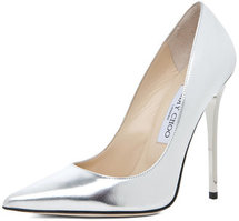 Jimmy Choo Anouk Heel in Silver
