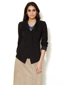 Elouise Layered Linen Jacket