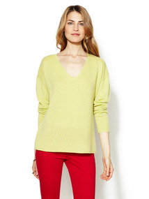Cashmere V-Neck Essential Sweater