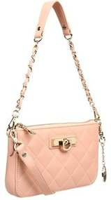 DKNY - Items - Quilted Nappa Small Clutch (Soft Pink) - Bags and Luggage