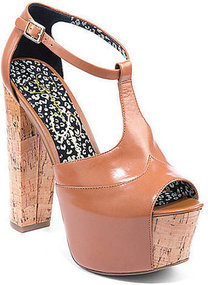 JESSICA SIMPSON Dany T-strap High-Heel Sandals