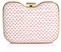 [a href=/womens/fendi]Fendi[/a]              Giano straw and leather clutch