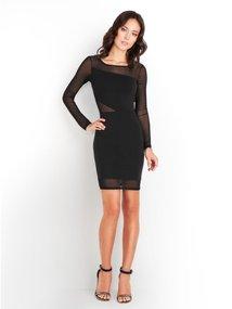 GUESS Ponte Mesh-Inset Dress