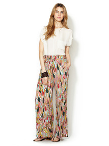 Printed Palazzo Pant