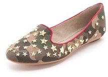 Ash Infini Star Studded Camo Loafers