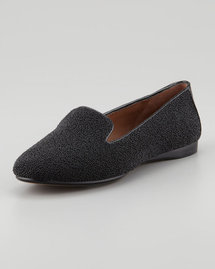 Donald J. Pliner Denda Sparkle Loafer, Black