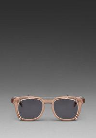 Spitfire Studio Tan Clip in Brown/Gold/Black