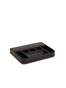 Large Brown Valet Tray