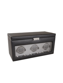Viceroy Triple Automatic Watch Winder, Storage, & Travel Case