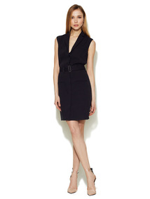 Olina Buckle Belt Dress