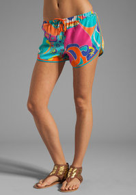 Trina Turk Sea Cove Beachhouse Shorts