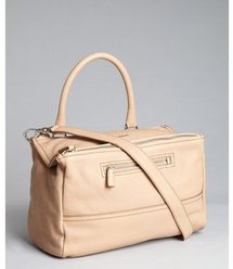 Givenchy linen leather &#x27;Pandora&#x27; convertible medium shoulder bag