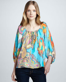 Alice &amp; Trixie Annalise Paisley-Print Top