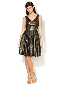 Brocade Ella Dress